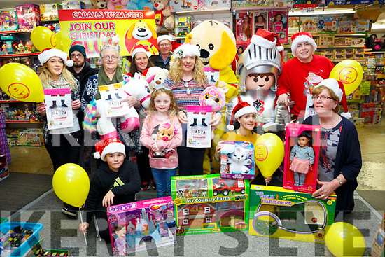 Caballs Toy Shop Launch of St. Vincent de Paul Christmas toy appeal