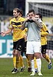 Nederland, Venlo, 9 december  2012.Eredivisie.Seizoen 2012/2013.VVV-VItesse 3-1.Theo Janssen van Vitesse baalt na de 3-1 nederlaag tegen vvv