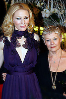 "Actresses Cate Blanchett and Judi Dench at the Berlinale 2007, 57. Internationale Filmfestspiele Berlin / 57th Berlin International Film Festival, Premiere of ""Notes on a Scandal"""