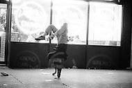 May, 1980. Manhattan, New York City, NY. To quote Travis Bickle from &lsquo;Taxi Driver&rsquo;, &lsquo;&rsquo;All the animals come out at night&rsquo;&rsquo;.  In Times Square, when the sun set, the cast of hustlers, fairies, dopers and thieves would multiply.<br /> <br /> Manhattan, New York City, NY. Mai, 1980. Image qui pourrait &ecirc;tre tir&eacute;e du film &ldquo;Taxi driver&ldquo;. Les trottoirs de la 42eme rue &eacute;taient inqui&eacute;tants &agrave; toutes heures, des personnages bizarres occup&eacute;s &agrave; ne rien faire d&rsquo;autre qu&rsquo;&agrave; vous d&eacute;visager&hellip; Cette foule &eacute;trange avait chass&eacute; les touristes du c&oelig;ur de Manhattan.