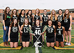 3-29-17, Huron High School girl's varsity lacrosse team