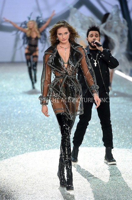 www.acepixs.com<br /> <br /> November 30 2016, New York City<br /> <br /> Sanne Vloet walks the runway during the Victoria's Secret Fashion Show on November 30, 2016 in Paris, France.<br /> <br /> By Line: Alain Benainous/ACE Pictures<br /> <br /> <br /> ACE Pictures Inc<br /> Tel: 6467670430<br /> Email: info@acepixs.com<br /> www.acepixs.com
