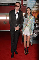 WESTWARD, CA - OCTOBER 8: Paul Bettany, Jennifer Connelly at the Only The Brave World Premiere at the Village Theater in Westwood, California on October 8, 2017. <br /> CAP/MPI/DE<br /> &copy;DE/MPI/Capital Pictures