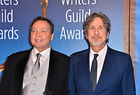 LOS ANGELES, CA. February 17, 2019: Bobby Farrelly & Peter Farrelly  at the 2019 Writers Guild Awards at the Beverly Hilton Hotel.<br /> Picture: Paul Smith/Featureflash