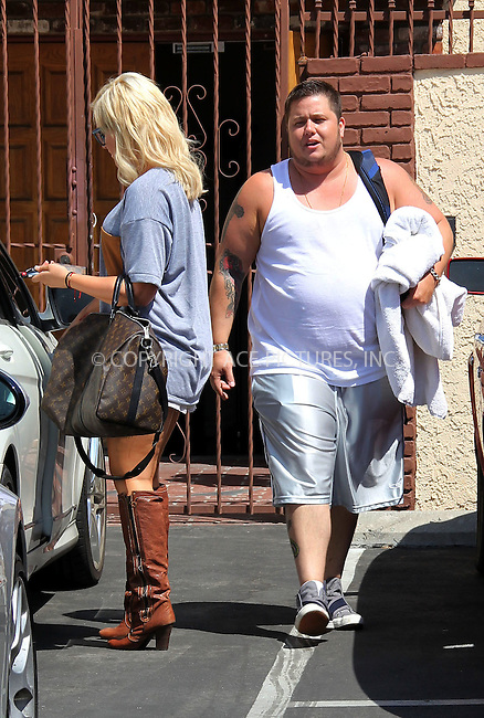 WWW.ACEPIXS.COM . . . . .  ..... . . . . US SALES ONLY . . . . .....August 31 2011, LA....Lacey Schwimmer and Chaz Bono at rehearsals for Dancing With The Stars on August 31 2011 in Los Angeles....Please byline: FAMOUS-ACE PICTURES... . . . .  ....Ace Pictures, Inc:  ..Tel: (212) 243-8787..e-mail: info@acepixs.com..web: http://www.acepixs.com