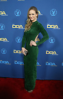 LOS ANGELES, CA - FEBRUARY 2: A.J. Cook at the 71st Annual DGA Awards at the Hollywood &amp; Highland Center's Ray Dolby Ballroom  in Los Angeles, California on February 2, 2019. <br /> CAP/MPIFS<br /> &copy;MPIFS/Capital Pictures