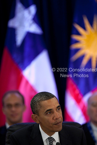 United States President Barack Obama makes remarks as he meets with Trans-Pacific Partnership leaders at the Hale Koa Hotel in Honolulu, Hawaii on Saturday, November 12, 2011..Credit: Kent Nishimura / Pool via CNP