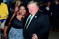 WASHINGTON, DC - JUNE 8: Misti O'Quinn and Mayor Dale Ross of Georgetown, Texas attend an advanced screening of 'From the Ashes' presented by National Geographic and Bloomberg Philanthropies at National Geographic Headquarters on June 8, 2017 in Washington, DC. (Photo by Don Baxter/National Geographic/PictureGroup)