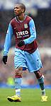Ashley Cole of Aston Villa during the Premier League match at Goodison Park  Stadium, Liverpool. Picture date 27th April 2008. Picture credit should read: Simon Bellis/Sportimage