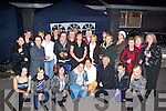 SALON: Catriona O'Sullivan (standing centre) who officially opened her Doon Beauty and Treatment Salon, Ballyheigue, on Friday night, surrounded by her many friends and family.   Copyright Kerry's Eye 2008