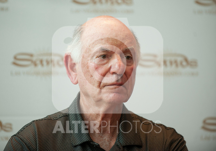 26/06/2012. MAdrid. Spain. l EUROSTAR Hotel. . Press Conferences For Media to explain the EUROVEGAS project. The general director of Las Vegas Sands Michael Levin gave the press conference and answer the media questions.