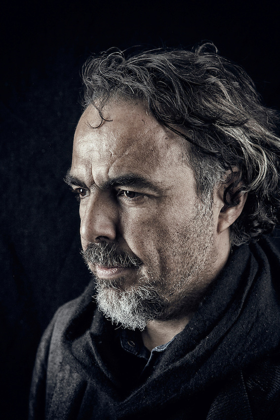 Alejandro Gonz&aacute;lez I&ntilde;&aacute;rritu photographed at the Covent Garden Hotel in London.  Alejandro Gonz&aacute;lez I&ntilde;&aacute;rritu is a Mexican film director, producer, screenwriter, and former composer. He is the first Mexican director to be nominated for the Academy Award for Best Directing and the Directors Guild of America Award for Outstanding Directing, for Babel in 2007. He is also the first Mexican-born director to have won the Prix de la mise en scene, the best director award at Cannes.<br /> <br /> His five feature films &ndash; Amores perros (2000), 21 Grams (2003), Babel (2006) (comprising the &quot;Death Trilogy&quot;), Biutiful (2010) and Birdman or (The Unexpected Virtue of Ignorance) (2014) &ndash; have garnered wide acclaim and numerous accolades including Academy Award nominations. In 2015, he won the Academy Award for Best Original Screenplay, Best Director and Best Picture for Birdman. His sixth film, The Revenant, will be released on December 25, 2015. Photograph by Antonio Olmos