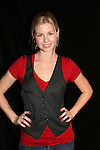 Stephanie Gatschet attends the Apothecary Theater Company's production of An Evening of Don Nigro on December 14, 2008 at Theatre 54, New York City, NY. (Photo by Sue Coflin/Max Photos)