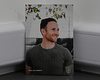 Marc Pugh of AFC Bournemouth on the front of the match day programme during AFC Bournemouth vs Norwich City, Caraboa Cup Football at the Vitality Stadium on 30th October 2018