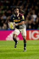 Harlequins' Marland Yarde<br /> <br /> Photographer Bob Bradford/CameraSport<br /> <br /> Aviva Premiership Round 20 - Harlequins v Exeter Chiefs - Friday 14th April 2016 - The Stoop - London<br /> <br /> World Copyright &copy; 2017 CameraSport. All rights reserved. 43 Linden Ave. Countesthorpe. Leicester. England. LE8 5PG - Tel: +44 (0) 116 277 4147 - admin@camerasport.com - www.camerasport.com