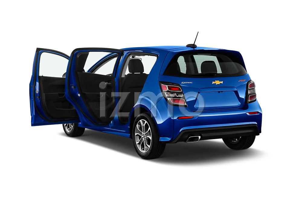 Car images close up view of a 2020 Chevrolet Sonic LT RS Select Doors Door Hatchback doors