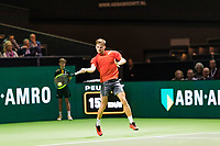 Rotterdam, The Netherlands, 12 Februari 2019, ABNAMRO World Tennis Tournament, Ahoy, first round singles: David Goffin (BEL),<br /> Photo: www.tennisimages.com/Henk Koster