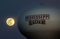 Water Tower Full Moon