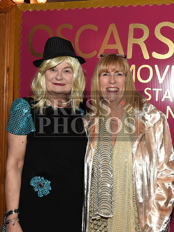 Mary Fitzsimons and Ann Tracey at the Oscars fancy dress party in Watters of Collonin aid of the Gary Kelly Cancer Support Centre.  Photo:Colin Bell/pressphotos.ie