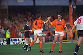 Paul Groves and Dave Bamber celebrate