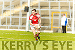 Kenmare in action against Conor Jenkins Rathmore in the Senior County Football Semi Final in Fitzgerald Stadium on Sunday.