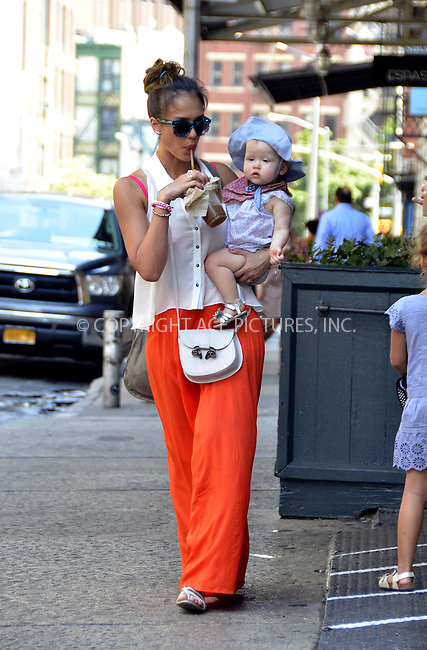 WWW.ACEPIXS.COM....July 24 2012, New York City....Actress Jessica Alba took her kids Honor and Haven for a stroll in Soho on July 24 2012 in New York City....By Line: Curtis Means/ACE Pictures......ACE Pictures, Inc...tel: 646 769 0430..Email: info@acepixs.com..www.acepixs.com