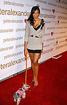 LOS ANGELES, CA. - October 22: Vanessa Simmons arrives at the Peter Alexander Flagship Boutique Grand Opening And Benefit on October 22, 2008 in Los Angeles, California.
