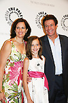 Michael O'Leary and wife Joni and daughter Carolyn at the Goodbye to Guiding Light, 72 Years Young on August 19, 2009 at the Paley Center for Media, NYC, NY. (Photo by Sue Coflin/Max Photos)