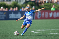 Allston, MA - Saturday August 19, 2017: Rosie White during a regular season National Women's Soccer League (NWSL) match between the Boston Breakers and the Orlando Pride at Jordan Field.