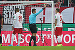 30.11.2019, RheinEnergieStadion, Koeln, GER, 1. FBL, 1.FC Koeln vs. FC Augsburg,<br />  <br /> DFL regulations prohibit any use of photographs as image sequences and/or quasi-video<br /> <br /> im Bild / picture shows: <br /> gelbe Karte für Rafael Czichos (FC Koeln #5),   fuer ein Foul im Strtafraum <br /> <br /> Foto © nordphoto / Meuter