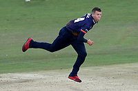 Peter Siddle in bowling action for Essex during Kent Spitfires vs Essex Eagles, Vitality Blast T20 Cricket at the St Lawrence Ground on 2nd August 2018