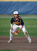 Boca Ciega Pirates first baseman Jake Dolcater (16) during a game against the Lakeland Spartans at Boca Ciega High School on March 2, 2016 in St. Petersburg, Florida.  (Copyright Mike Janes Photography)