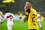 09.03.2019, Signal Iduna Park, Dortmund, GER, 1.FBL, Borussia Dortmund vs VfB Stuttgart, DFL REGULATIONS PROHIBIT ANY USE OF PHOTOGRAPHS AS IMAGE SEQUENCES AND/OR QUASI-VIDEO<br /> <br /> im Bild   picture shows:<br /> Marius Wolf (Borussia Dortmund #27) entt&auml;uscht nach vergebener Chancce, <br /> <br /> Foto &copy; nordphoto / Rauch