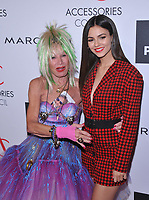 NEW YORK, NY - August 7: Betsey Johnson, , Victoria Justice attends the Accessories Council's 21st Annual celebration of the ACE awards at Cipriani 42nd Street on August 7, 2017 in New York City in New York City. <br /> CAP/MPI/JP<br /> &copy;JP/MPI/Capital Pictures