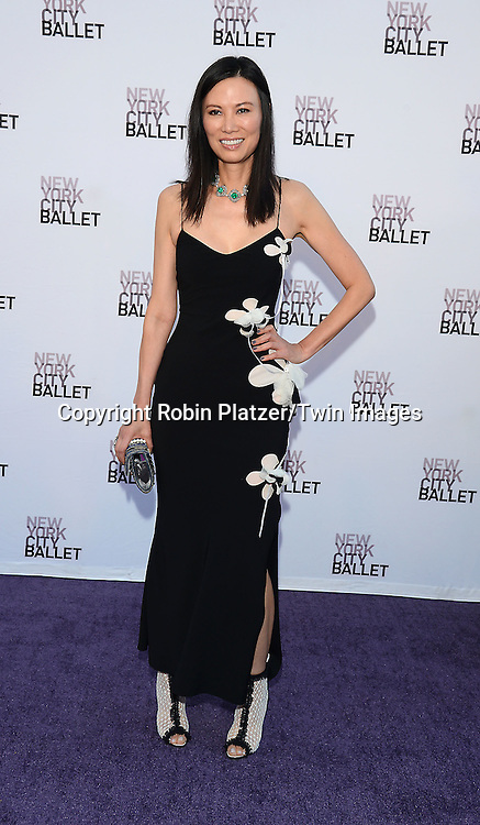 Wendi Murdoch attends the New York City Ballet's 3rd Annual  Fall Fashion Gala on September 23, 2014 at David Koch Theatre in Lincoln Center in New York City. <br /> <br /> photo by Robin Platzer/Twin Images<br />  <br /> phone number 212-935-0770