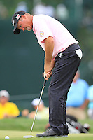 Jerry Kelly (USA) putts on the 1st green during Thursday's Round 1 of the 2014 PGA Championship held at the Valhalla Club, Louisville, Kentucky.: Picture Eoin Clarke, www.golffile.ie: 6th August 2014