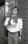 "Jeff Daniels after a performance in ""Fifth of July"" on July 18, 1981 at The New Apollo Theatre in New York City."