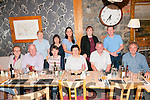 Retirement Party: John Horgan, seated second from right, celebrating his retirement after 31 years service at AIB, Listowel at Mai Fitz's Restaurant on Friday night last.
