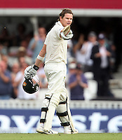 Steven Smith of Australia acknowledges his century - England vs Australia - 2nd day of the 5th Investec Ashes Test match at The Kia Oval, London - 22/08/13 - MANDATORY CREDIT: Rob Newell/TGSPHOTO - Self billing applies where appropriate - 0845 094 6026 - contact@tgsphoto.co.uk - NO UNPAID USE
