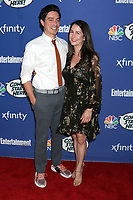 LOS ANGELES - SEP 16:  Ben Feldman, Michelle Mulitz at the NBC Comedy Starts Here Event at the NeueHouse on September 16, 2019 in Los Angeles, CA