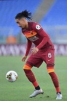 Chris Smalling of Roma<br /> during the Serie A football match between AS Roma and ACF Fiorentina at stadio Olimpico in Roma (Italy), July 26th, 2020. Play resumes behind closed doors following the outbreak of the coronavirus disease. <br /> Photo Antonietta Baldassarre / Insidefoto