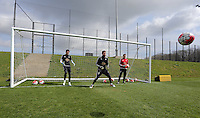 2016 04 12 Swansea City FC training at Fairwood, Wales, UK