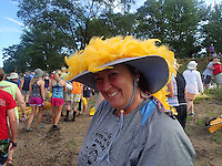 Crazy hat day on the trip.