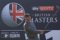 Padraig Harrington (IRL) on the 11th tee during the Pro-Am for the Sky Sports British Masters at Walton Heath Golf Club in Tadworth, Surrey, England on Tuesday 10th Oct 2018.<br />