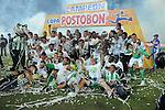 celebaracion<br /> <br /> Atlettico Nacional derroto2x0 al deportivo Pasto en la copa postobon coronandose campeon de la copa postobon dle futbol colombian