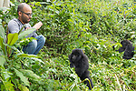 Ruben Viewing Mountain Gorillas