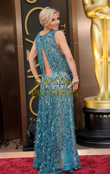 HOLLYWOOD, CA - MARCH 2: Elsa Pataky arriving to the 2014 Oscars at the Hollywood and Highland Center in Hollywood, California. March 2, 2014. <br /> CAP/MPI/COR99<br /> &copy;COR99/MediaPunch/Capital Pictures