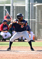 Lucas Montero / Cleveland Indians 2008 Instructional League..Photo by:  Bill Mitchell/Four Seam Images