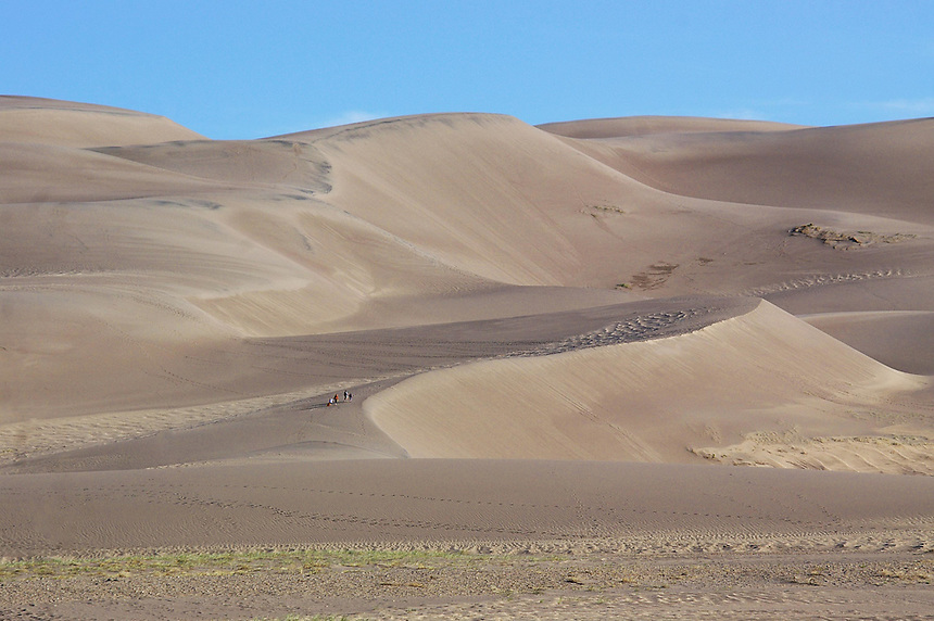 Great Sand Dunes National Park near Mosca, Colorado