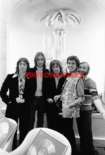 Genesis with Peter Gabriel  Feb 1975..© Chris Walter..